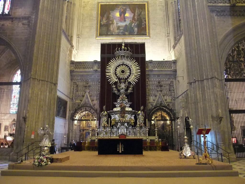 Resultado de imagen de altar de plata catedral de sevilla