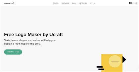logo maker create   logo design ucraft