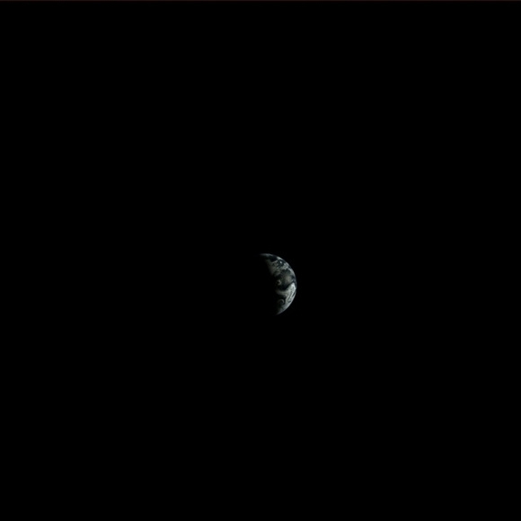 Earth from Mare Imbrium