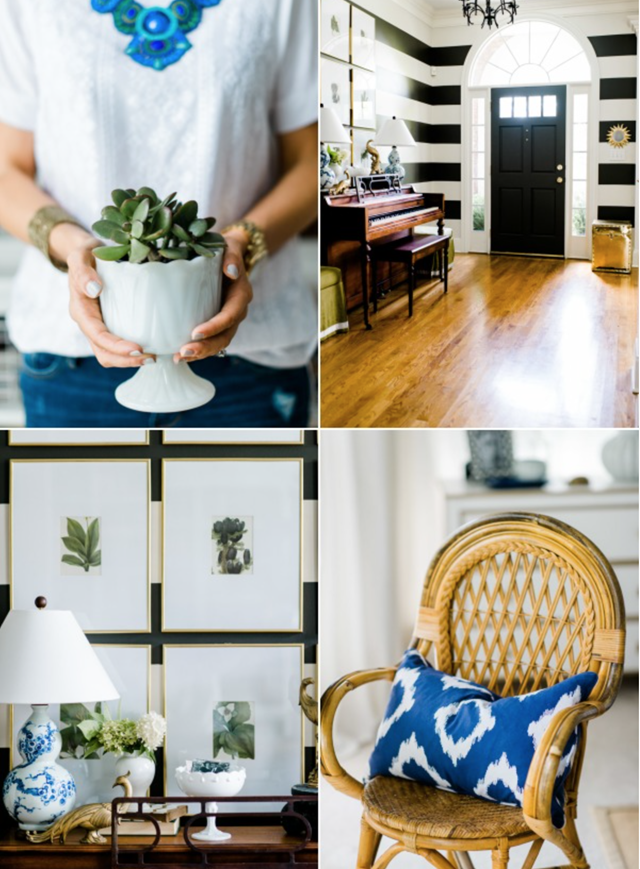 our home on Style Me Pretty Living