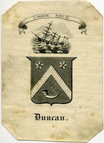 Duncan Bookplate