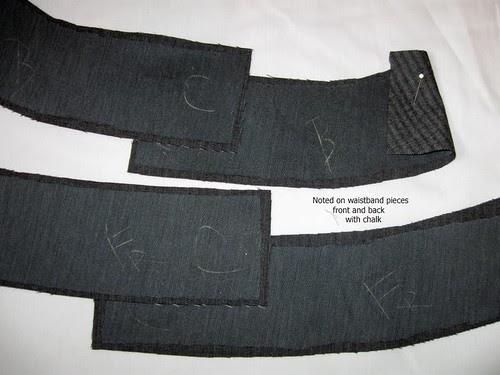 Grey wool pants 4