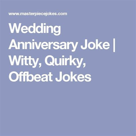 What are some good 50th wedding anniversary jokes