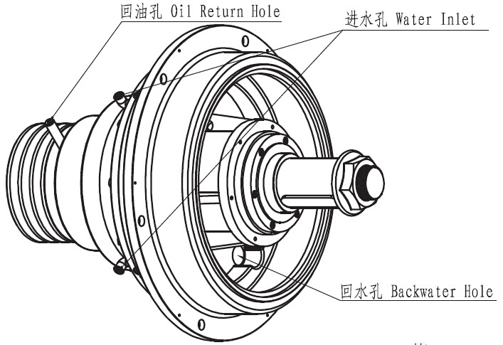 Lsj Series Gearbox For Straight Line Wire Drawing Machine