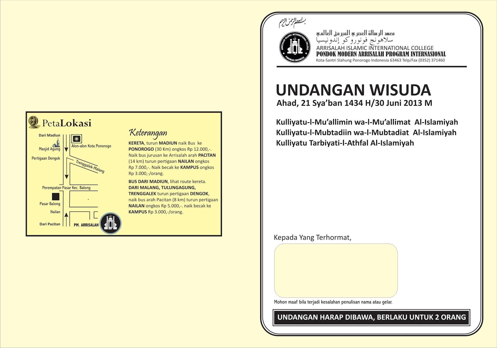Contoh Surat Undangan Visa Ke Indonesia Contoh Ilb