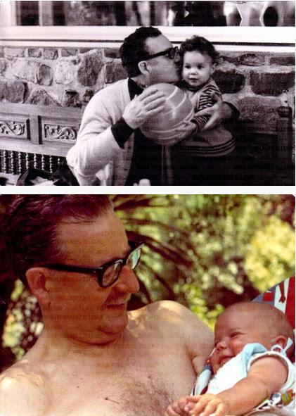 padecirctm:  Maya Fernández Allende hace 40 años.