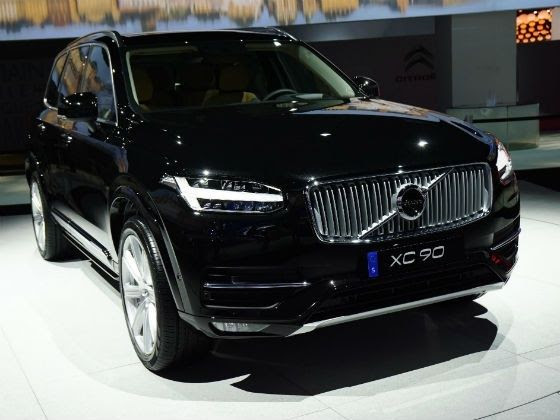 New SUVs for 2015 Volvo XC90