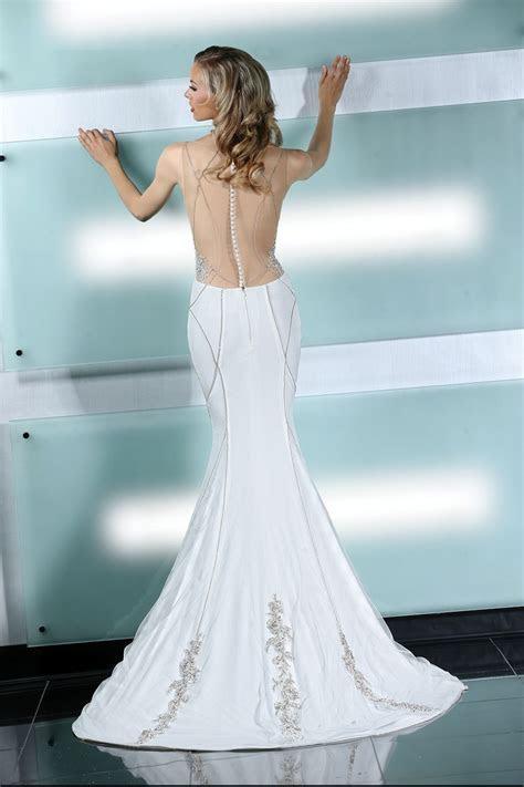 Simone Carvalli wedding dress style 90226 #illusionback #