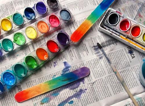 rainbow sticks