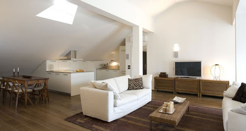 GAS architects contemporary living room