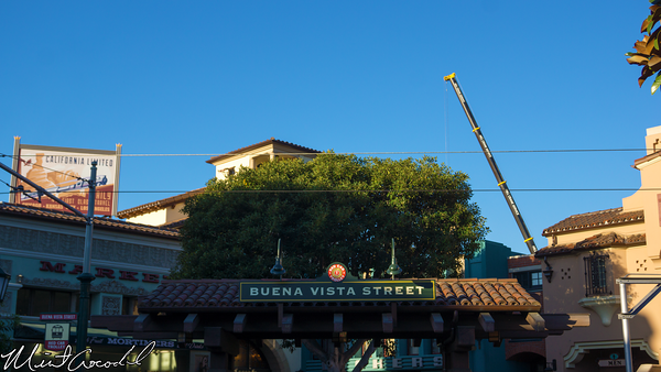 Disneyland Resort, Disney California Adventure, Buena Vista Street, Grizzly, Peak, Airfield, Refurbishment, Refurbish, Refurb, Crane