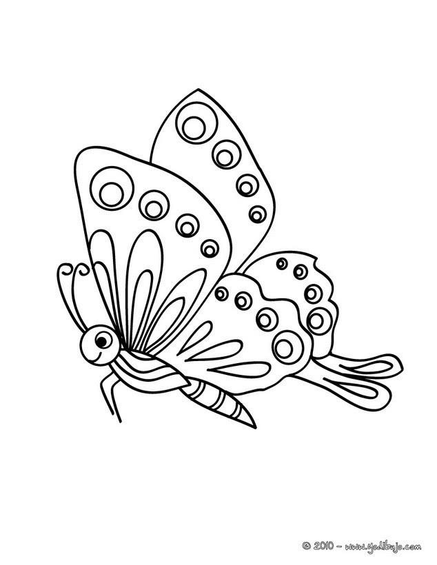 Dibujos Para Colorear Una Mariposa Monarca Es Hellokids Com