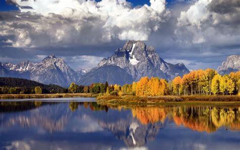 hd beautiful autumn mountainscape wallpaper
