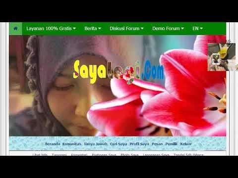 Cara Membuat Website Forum Gratis di SayaLagi dot Com