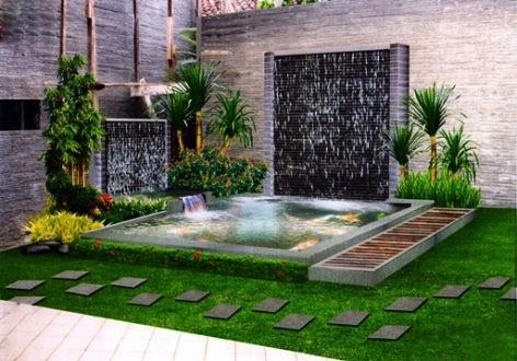 42 Desain Taman Depan Rumah Minimalis Gratis Terbaru