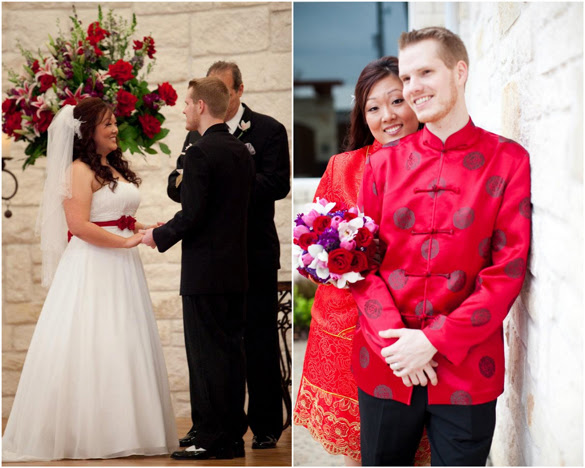If The Ring Fits Asian Inspired Wedding: Wedding Flowers: Asian Inspired Wedding Dresses