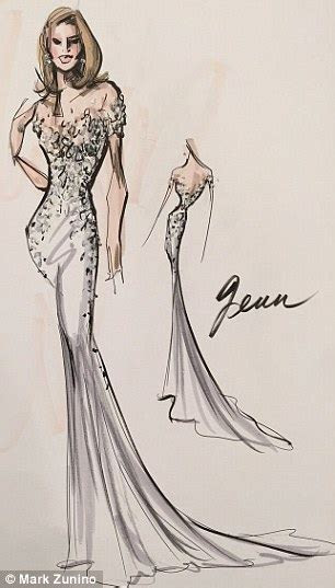 Jennifer Aniston's wedding dress 'was revealed by Say Yes