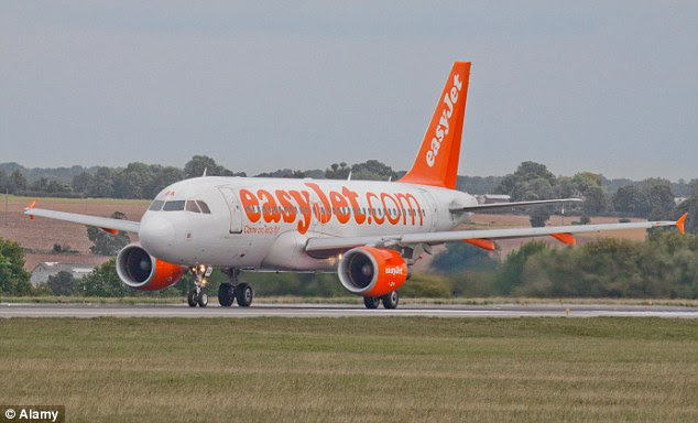 Passengers said the cork damaged ceiling panels and caused oxygen masks to drop at the back of the plane