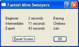 tentu saja mengenal permainan Minesweeper Hacking Microsoft Game: Minesweeper