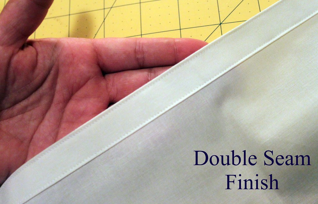 double seam finish