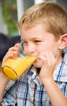 A U.S. expert says orange juice is so strong it can 'literally wash away your teeth'