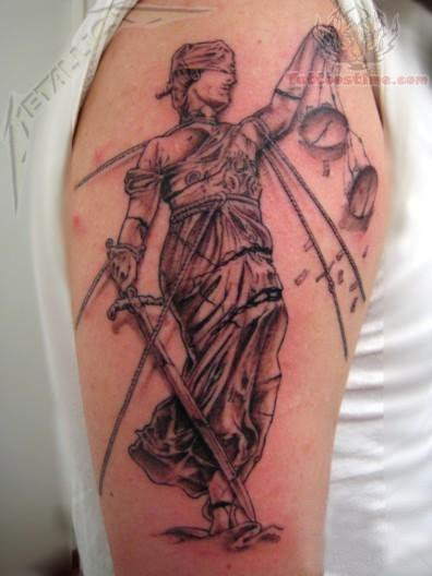 Blind Justice Tattoo Meaning 94020 Movieweb