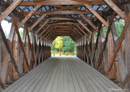Inside of the Bennett-Bean Bridge