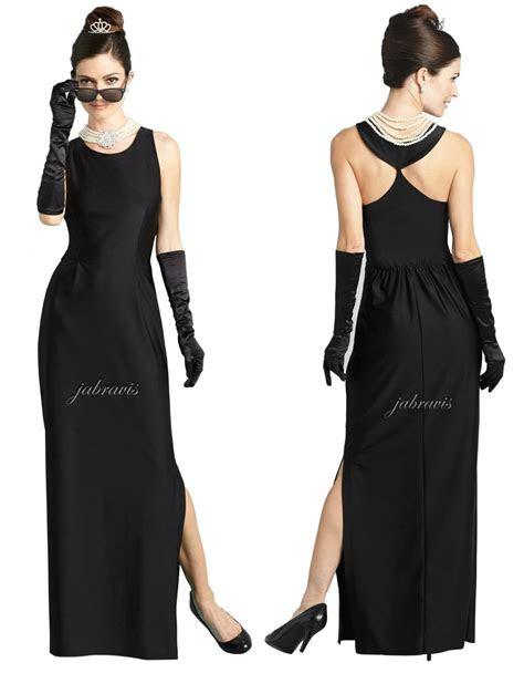 Audrey Hepburn Desayuno Tiffany's Givenchy Maxi Vestido