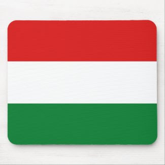Hungary Flag Mousepad mousepad