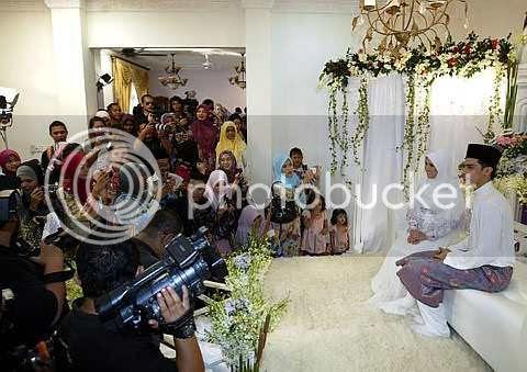 gambar majlis pertunangan ashraf muslim