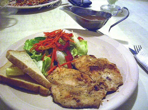T Cafe - western chicken chop