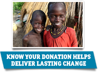CARE will use your donation to help fight poverty around the world