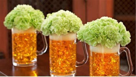 Beer Mug Centerpiece Ideas ? A Wedding Blog