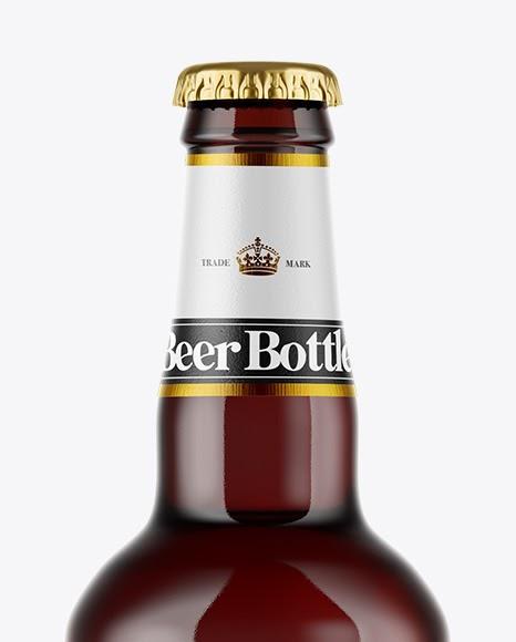 10+ Matte Black Beer Bottle Mockup Gif | Mockup Music Clasic