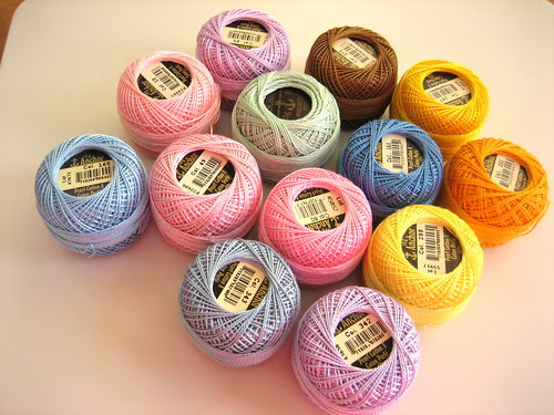 More Perle Cottons