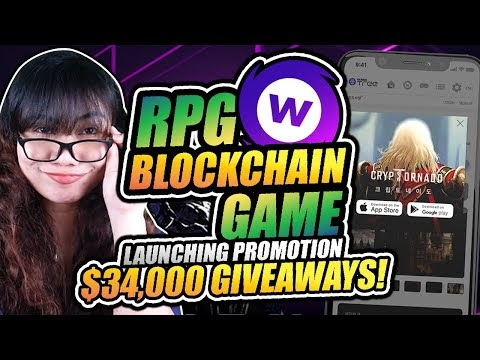 $34,000 GIVEAWAYS: Earn Crypto on RPG Game Cryptornado WEMIX