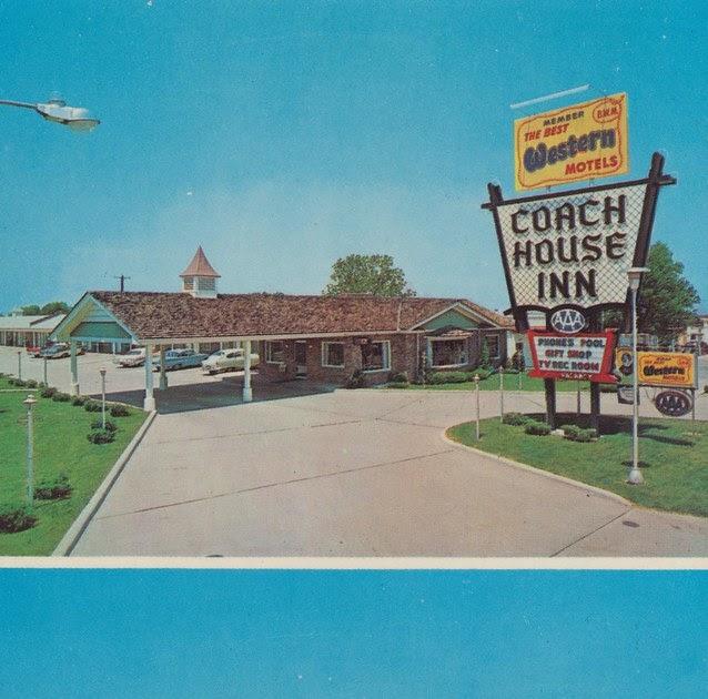 the cardboard america motel archive coach house inn. Black Bedroom Furniture Sets. Home Design Ideas