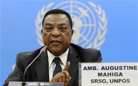 United Nations Ambassador to Somalia, Augustine Mahiga, was recently appointed in the war-torn Horn of Africa state. Somalia is under siege by several imperialist nations and their allies. by Pan-African News Wire File Photos