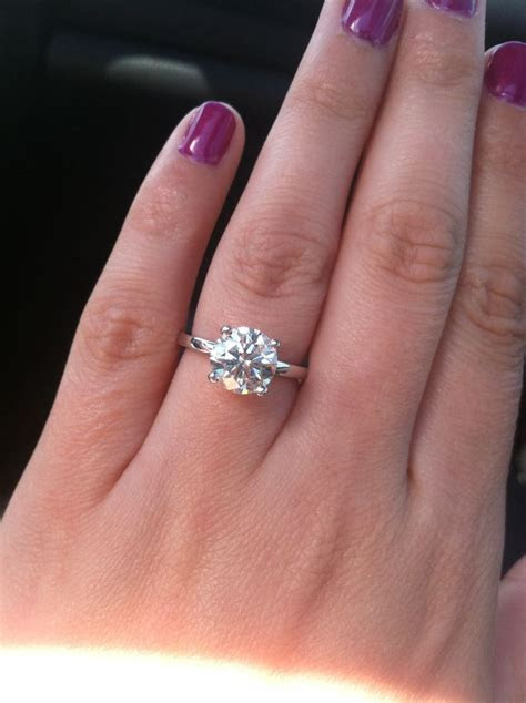 1000  ideas about 2 Carat on Pinterest   Oval engagement