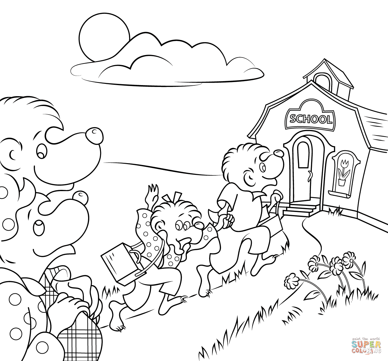 80 Free Coloring Pages About School Images & Pictures In HD