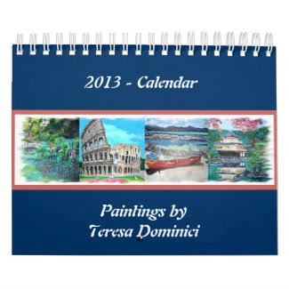 Paintings by Teresa Dominici - Calendar