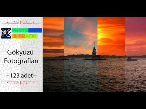 Photoshopla Otomatik Gökyüzü Değiştirme