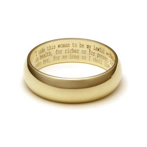 Wedding ring messages