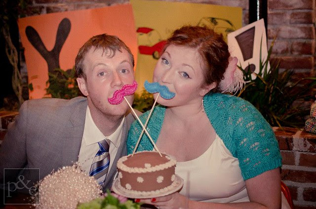 Alex and Joe Cake Toppers