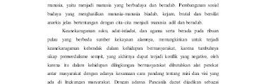 makalah pancasila berakar dari budaya bangsa indonesia