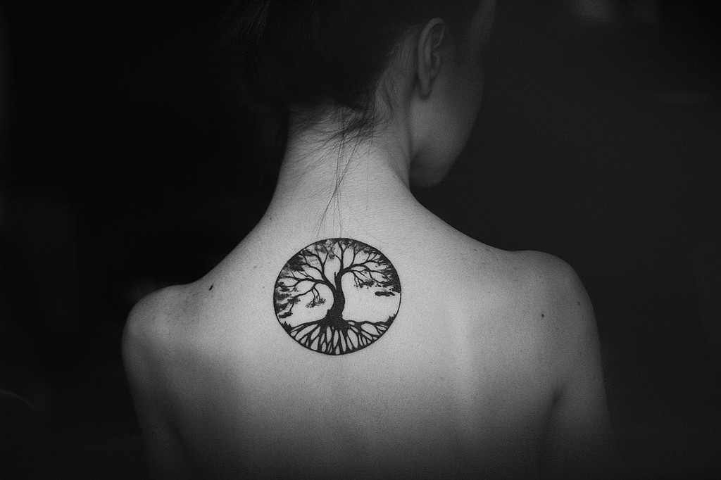 Tree Of Life Tattoo On Back Design Of Tattoosdesign Of Tattoos