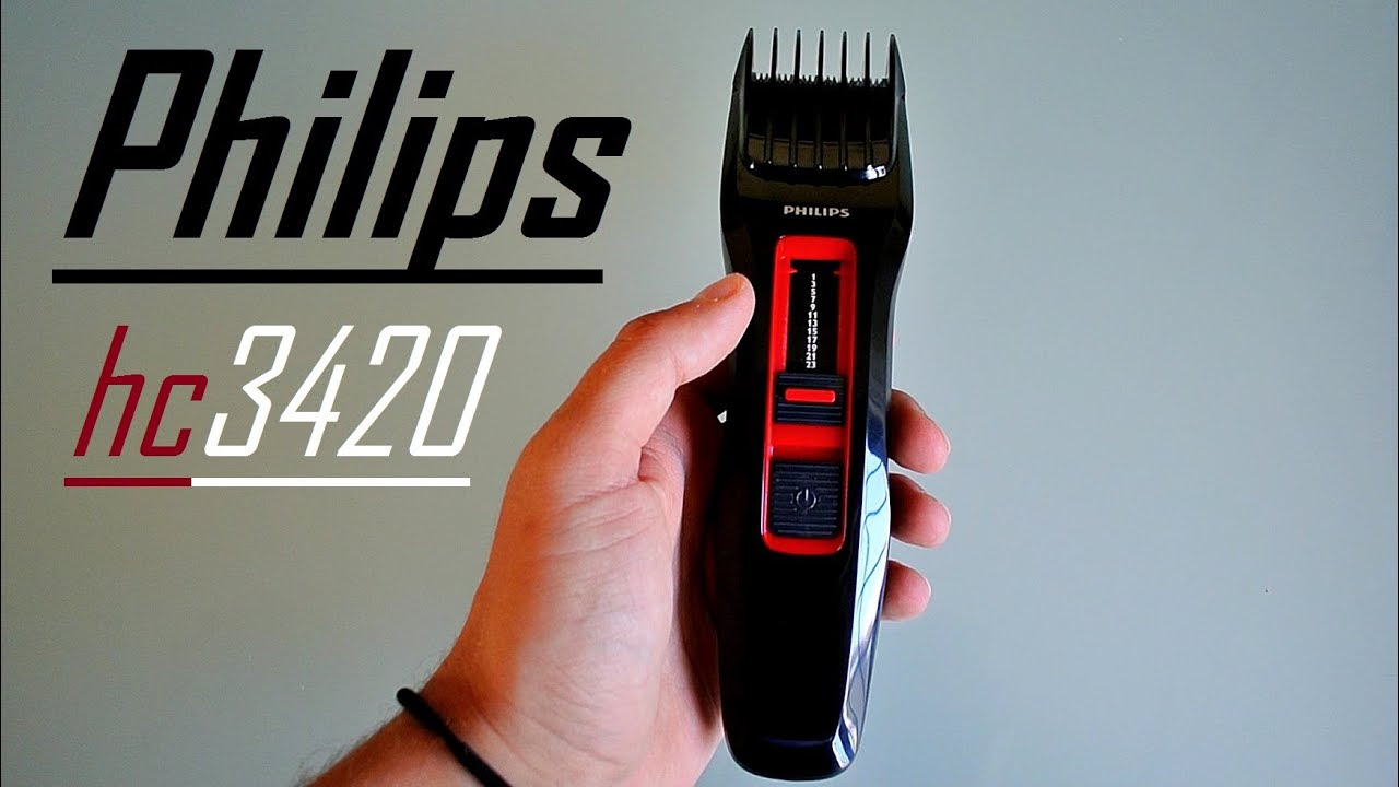 iPhilipsi hc3420 iHairi iClipperi Series 3000 Unboxing Review HD