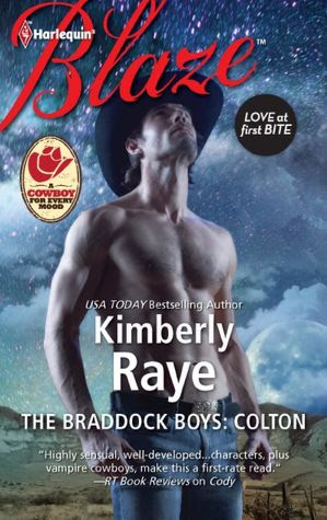 The Braddock Boys: Colton (Harlequin Blaze Series #690)