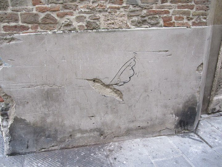 Street Art by Trebel Art in Perugia, Italy