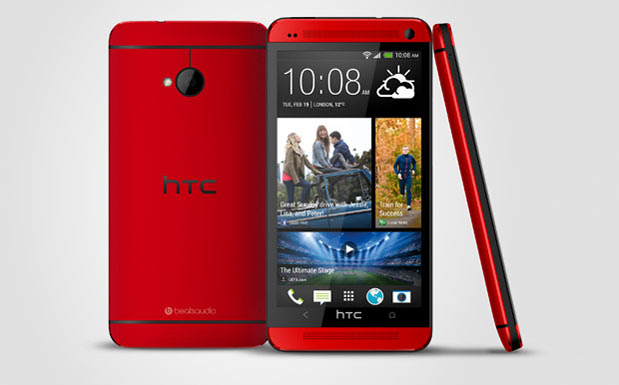 HTC one launches in 'glamor red', arrives in the UK next month